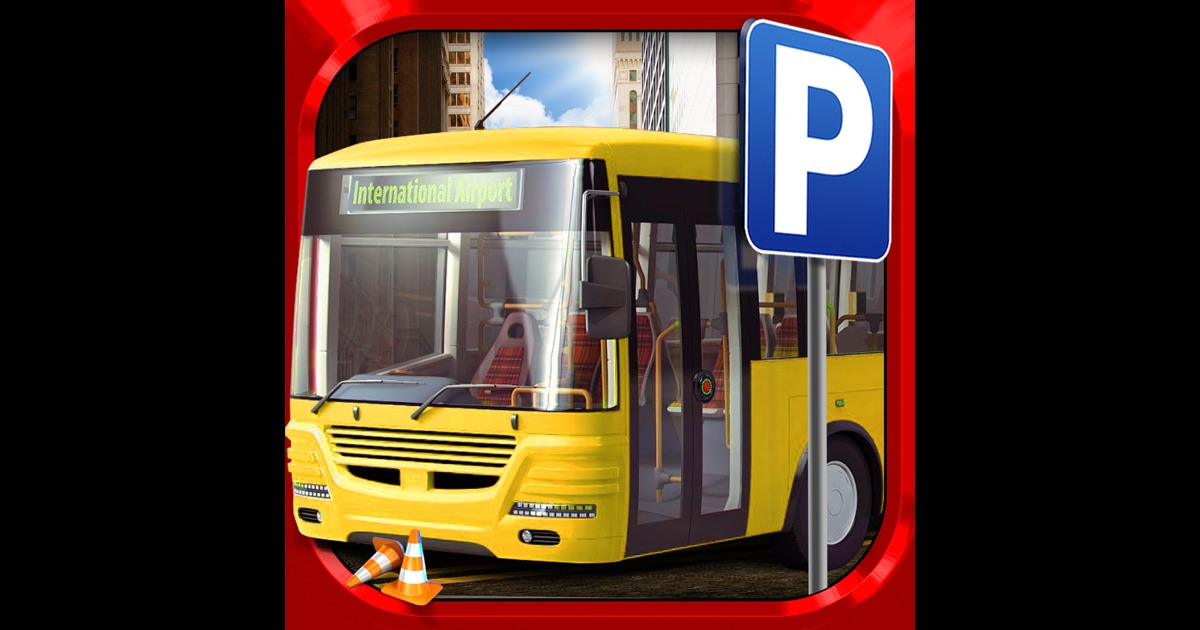 3d bus driver simulator car parking game gratuit jeux de voiture de course dans l app store. Black Bedroom Furniture Sets. Home Design Ideas