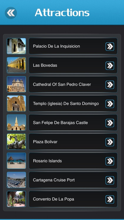 Cartagena Offline Travel Guide