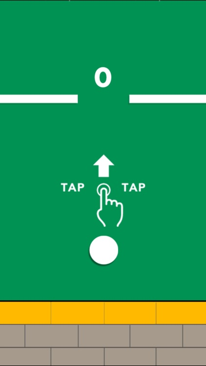 Circle Up - Tap to fly your dot up and try not to hit the circle