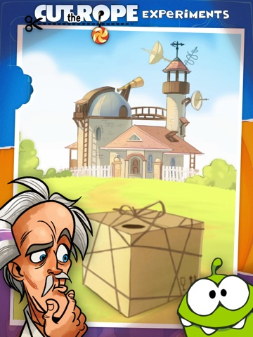 Cut the Rope: Experiments HD для iPad