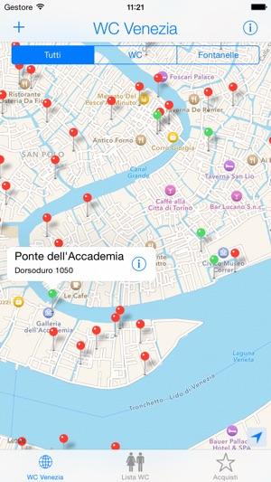 WC Venezia su App Store