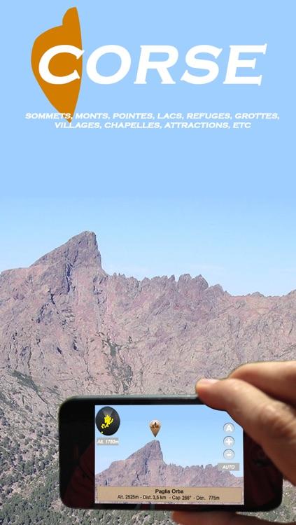 Corse mountains