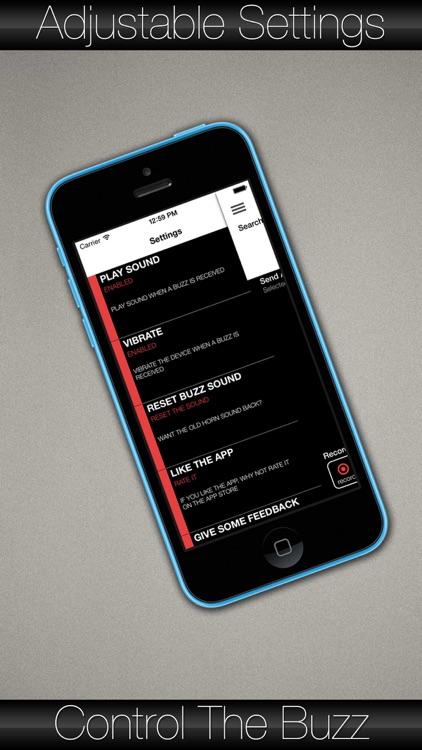 Buzzcom - The bluetooth / wifi recording intercom screenshot-3
