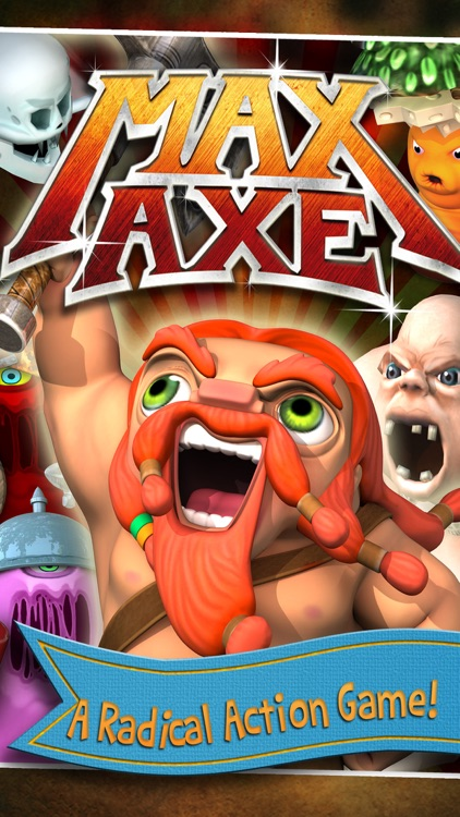 Max Axe - Epic Adventure! screenshot-0