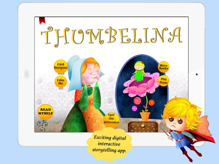 Thumbelina for Children by Story Time for Kids