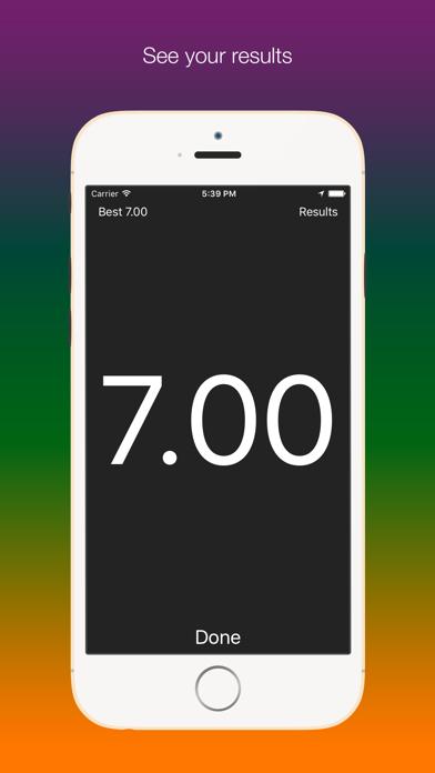 Screenshot #3 pour SpeedUp - Acceleration test 0-100 kmh 0-60 mph