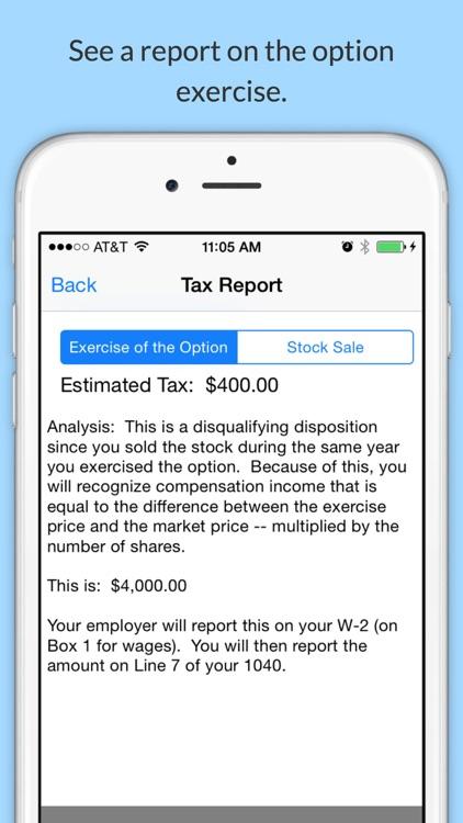 Option Taxes