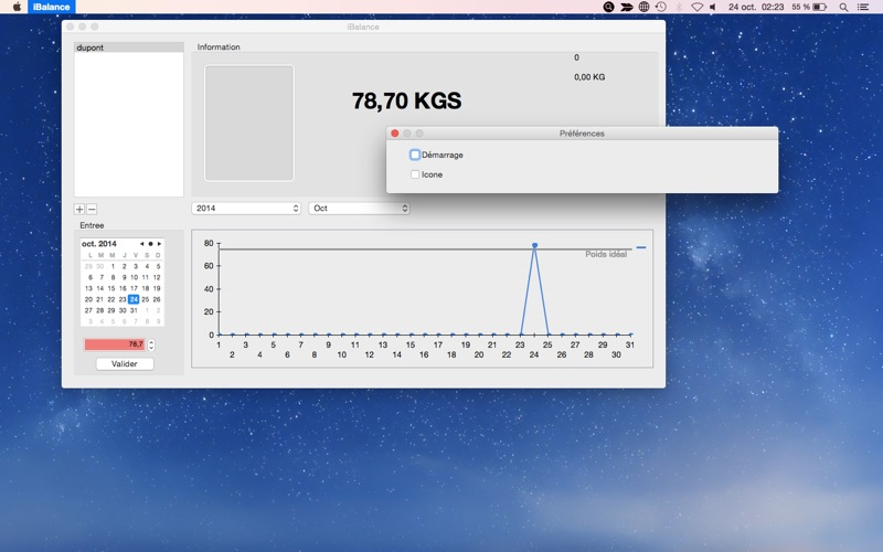 iBalance скриншот программы 2