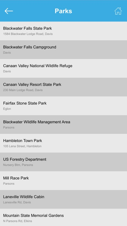 West Virginia National Parks & State Parks screenshot-4