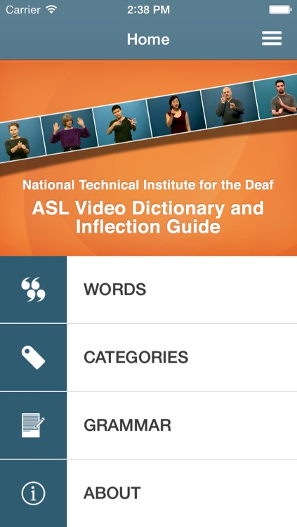 ASL Dictionary from NTID