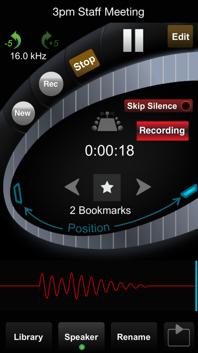 HT Professional Recorder screenshot one