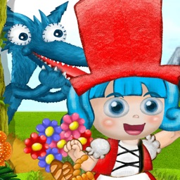 Little Miss Red (New Little Red Riding Hood Multiple Endings Interactive Adventure Gamebook for Children-App by Roxy the Star)