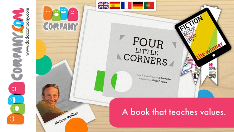 Four little corners - An interactive storybook app about friendship screenshot-0