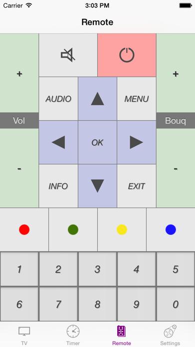 Dreambox Controller Screenshot