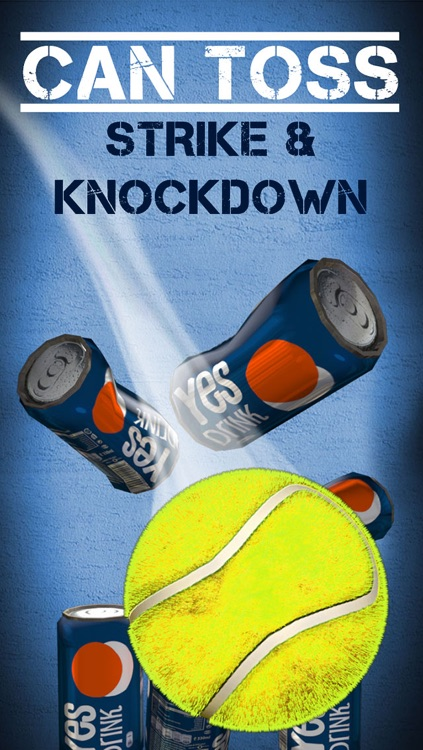 Can Toss - Strike and Knock Down