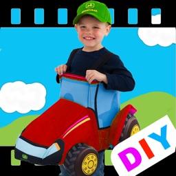 DIY Baby Flash Cards - Automobile