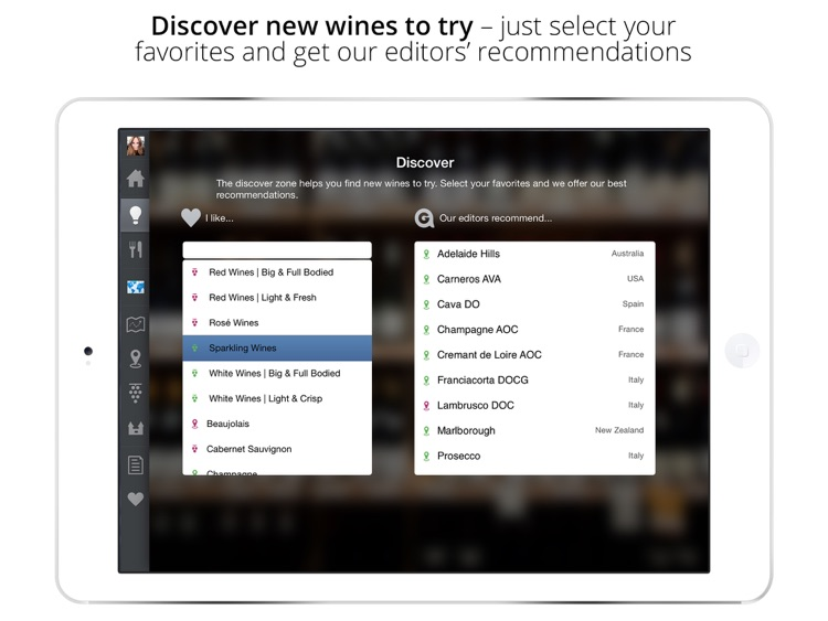 Approach Guides Wine for iPad (Wine Guide)