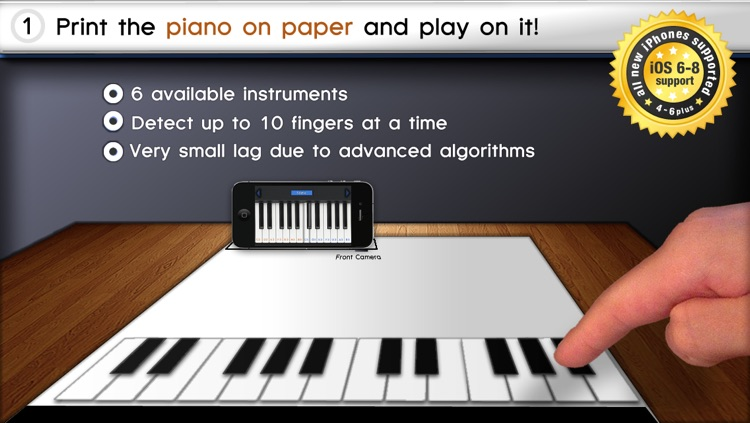Paper Piano screenshot-0