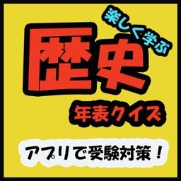 歴史年表クイズ(日本史)