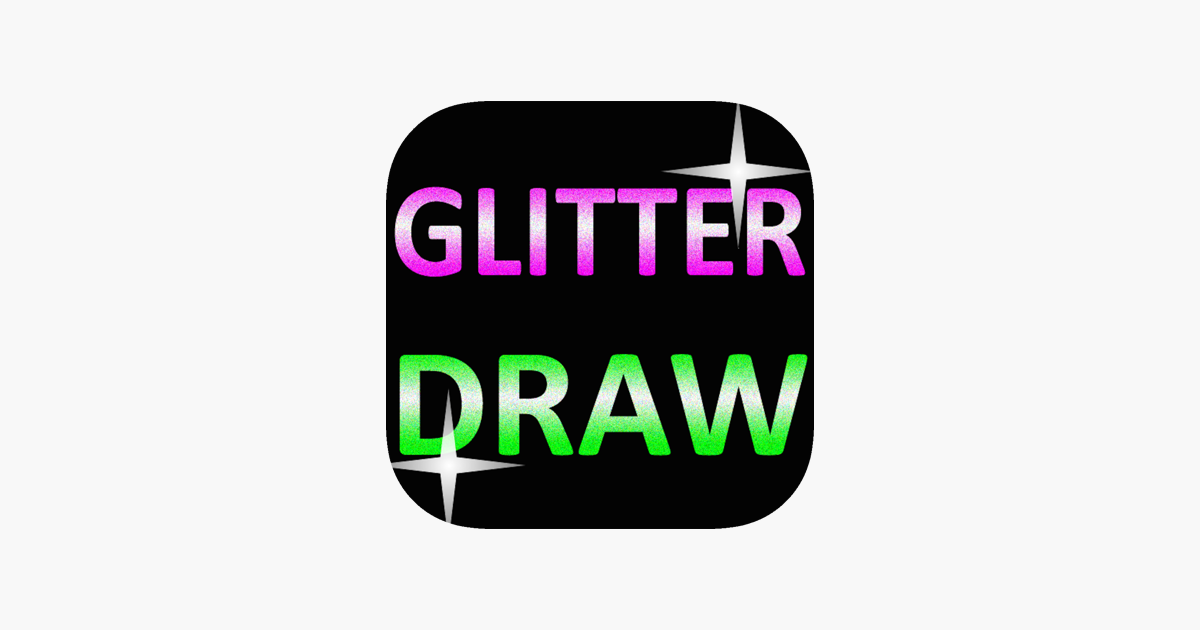 GLITTER DRAW FREE!! on the App Store