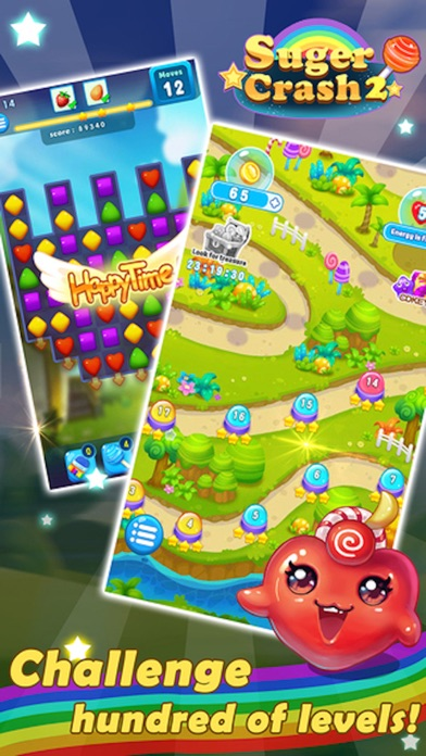 Sugar Blast Mania - 3 match puzzle yummy game