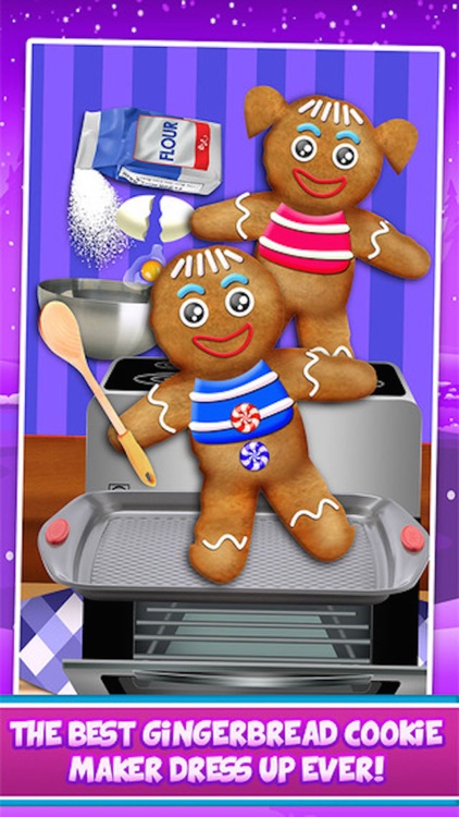 Gingerbread Maker - Make Fun Dessert Food & Cooking Cookie Candy Legend screenshot-0
