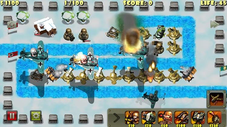 Little Commander - World War II TD screenshot-3