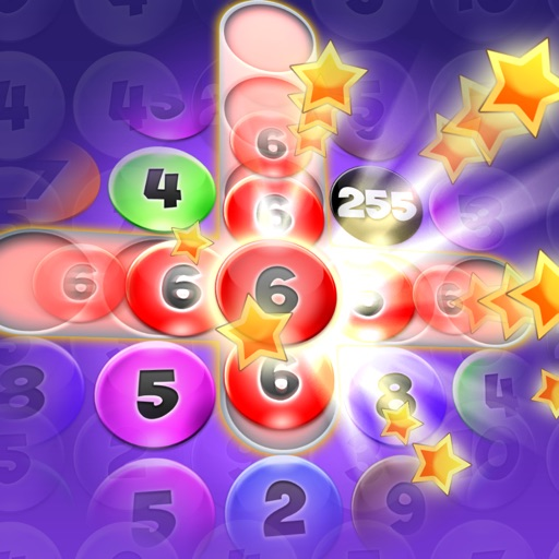 Numbers Addict 2 Candy Splash HD for iPhone, iPad & iPod Touch - Bubble Puzzle Brain & Mind IQ Challenge