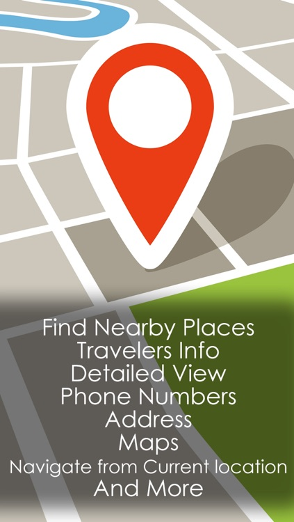 A Travel guide with smart navigation - Find & navigate to all the things around you and to nearby places like food , restaurants and hotels