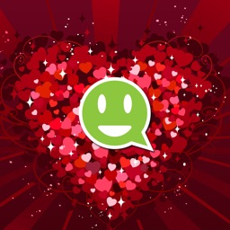 Valentines Day, Love Stickers, Emoji Art, Wallpaper