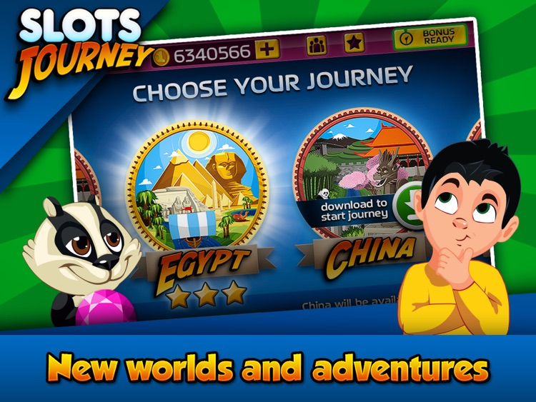Slots Journey HD screenshot-3