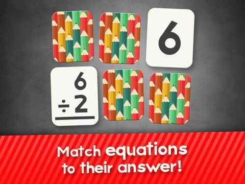 第2回で子供のための部門フラッシュカードマッチゲーム、3番目と4年生の学習フラッシュカード無料のおすすめ画像1