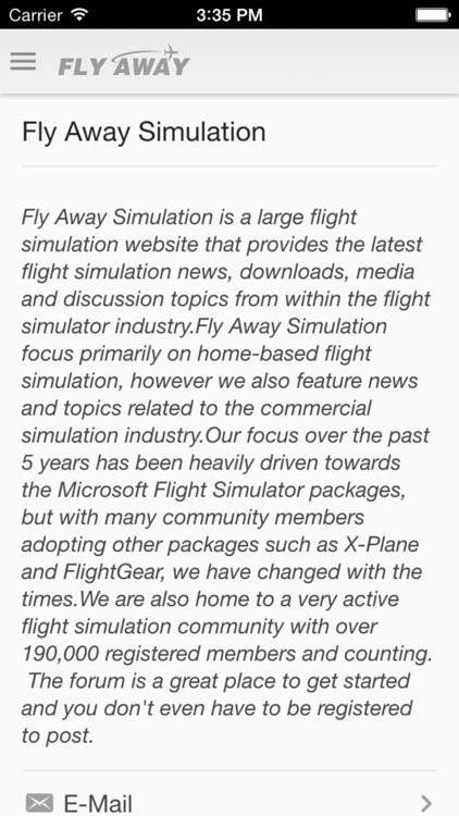 Fly Away Simulation: Flight Simulator News, Reviews & Downloads screenshot-3