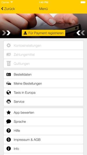 taxi app f r europa im app store. Black Bedroom Furniture Sets. Home Design Ideas