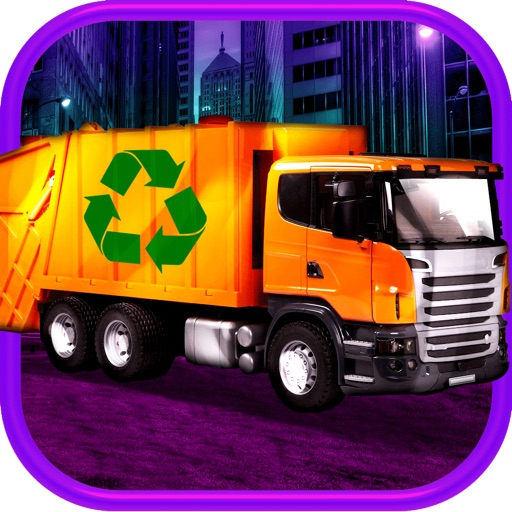 3D Garbage Truck Racing Game With Real City Racer Games And Police Cars FREE