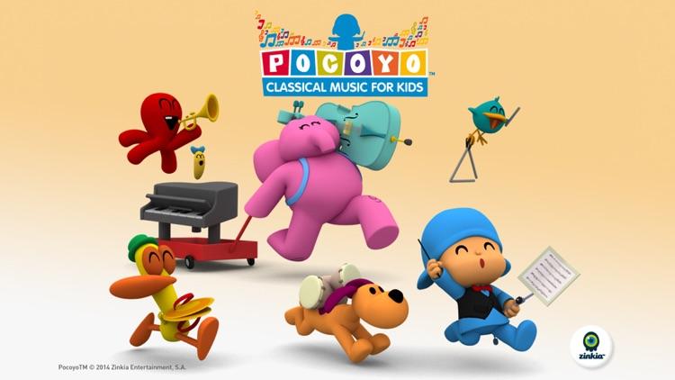 Pocoyo Classical Music for Kids - Free screenshot-3