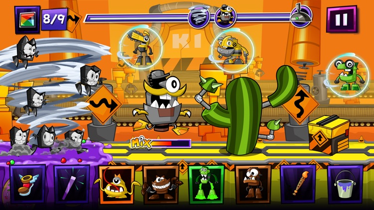 Mixels Rush - Use Mixes, Maxes and Murps to Outrun the Nixels screenshot-4