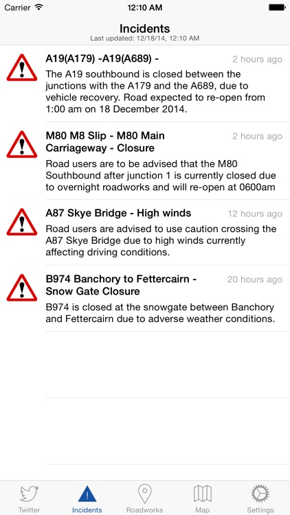 Traffic Scotland screenshot-1
