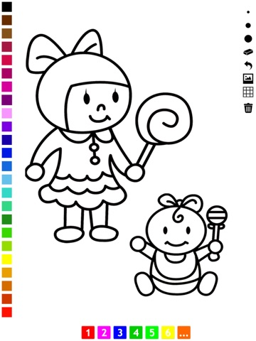 A Family Coloring Book for Children: Learn to Draw and Color Grand ...