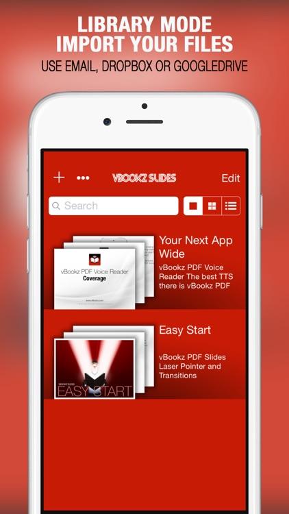 vBookz Slides - PDF Presentation Expert