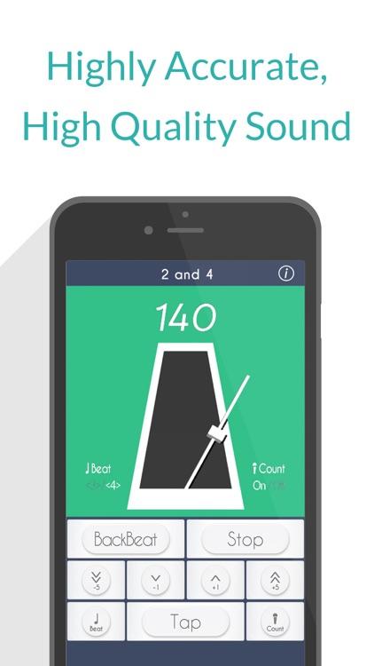 2 and 4: Free Metronome screenshot-3