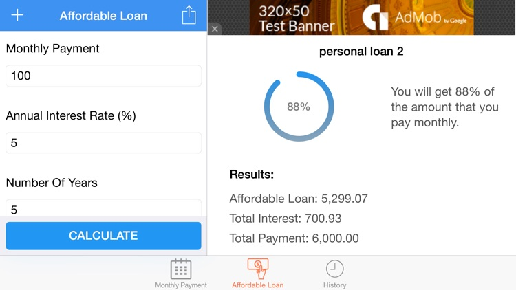 Loans Calculator and Manager