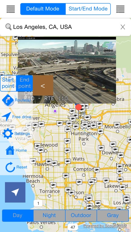California Offline Map & Navigation & POI & Travel Guide & Wikipedia with Traffic Cameras Pro screenshot-1