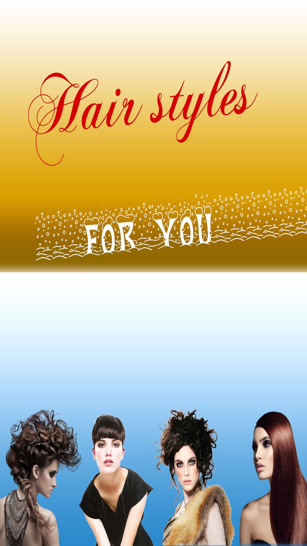 Hairstyles Makeover Booth –  The hair styles collection for christmas and halloween season