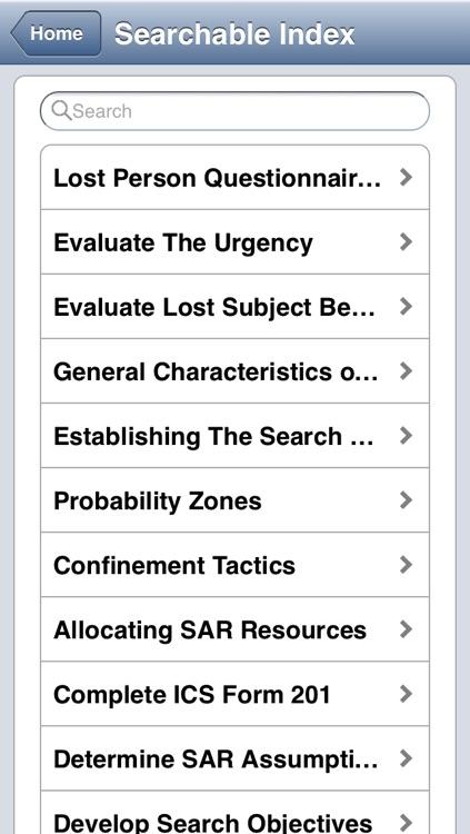 Search & Rescue Operations Field Guide screenshot-4
