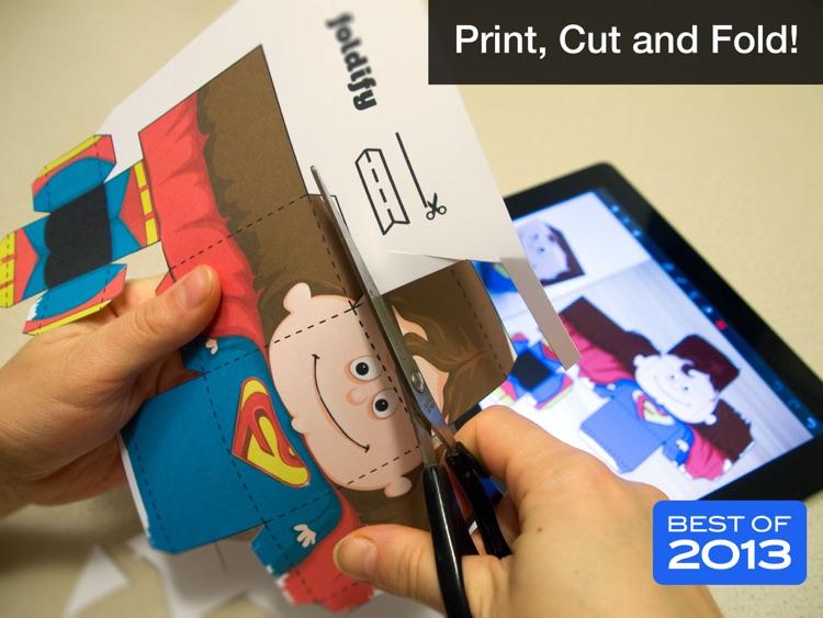 Foldify - Create, Print, Fold!