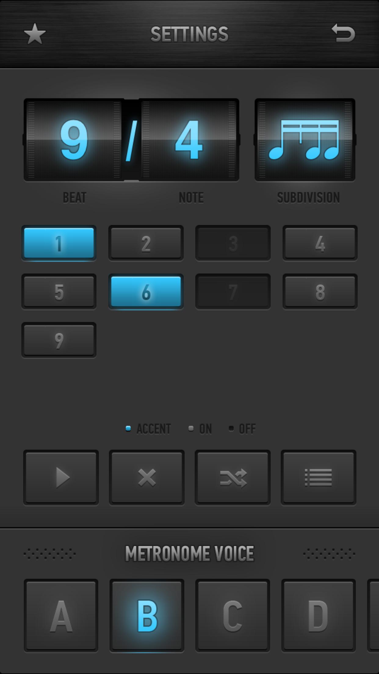 Metronome Ϟ Screenshot