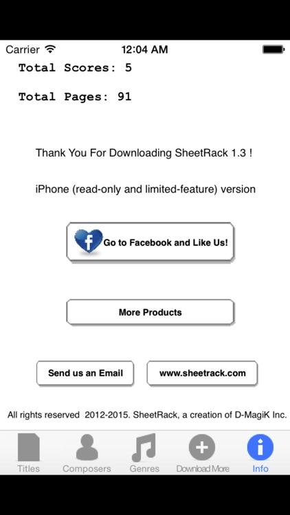 SheetRack - Original Sheet Music Score Reader screenshot-4