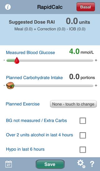 RapidCalc Diabetes Managerのおすすめ画像1
