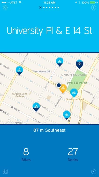 NYC Bikes — A One-Tap Citi Bike App